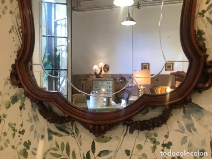 Antigüedades: Espejo de estilo isabelino - Foto 3 - 134849570