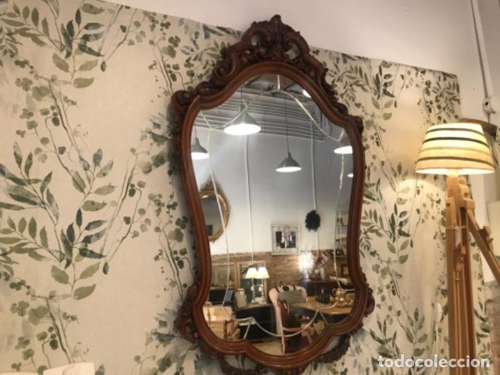 Antigüedades: Espejo de estilo isabelino - Foto 4 - 134849570