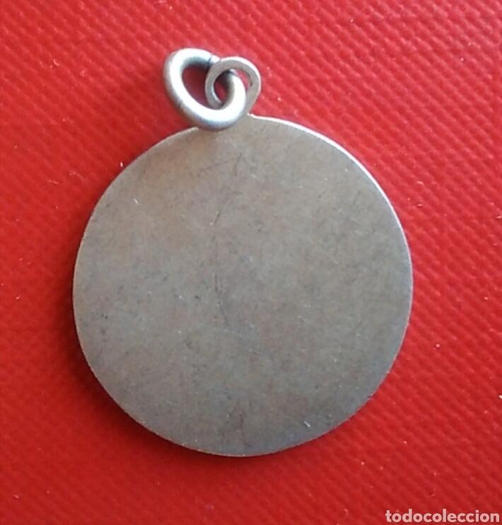 Antigüedades: Medalla religiosa antigua nuestra señora del carmen virgen / 25 x 30 mm - Foto 2 - 134868718