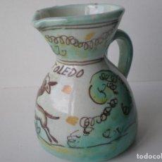 Antigüedades: PEQUEÑA JARRA CERAMICA PUENTE DEL ARZOBISPO TOLEDO. Lote 134927666