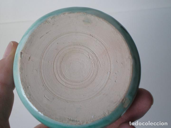 Antigüedades: PEQUEÑA JARRA CERAMICA PUENTE DEL ARZOBISPO TOLEDO - Foto 5 - 134927666