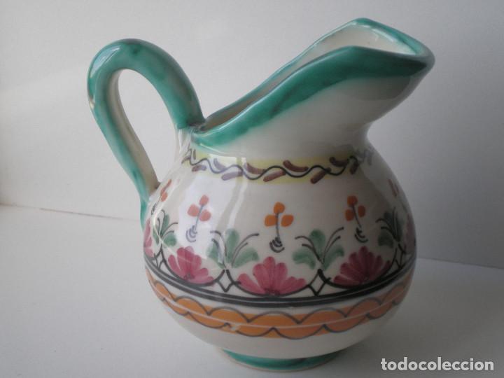 Antigüedades: PEQUEÑA JARRA O SALSERA DE CERAMICA PUENTE DEL ARZOBISPO TOLEDO - Foto 2 - 134932046