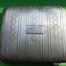 Antigüedades: PITILLERA DE PLATA ANTIGUA. Lote 134957430