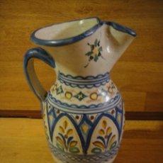 Antigüedades: JARRA DE CERAMICA- FIRMADA G. M. PUENTE DEL ARZOBISPO. Lote 134976842