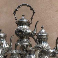 Antigüedades: JUEGO DE CAFE/TE. Lote 134976966