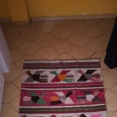 Antigüedades: TAPIZ O ALFOMBRA PERUANA. Lote 134987138