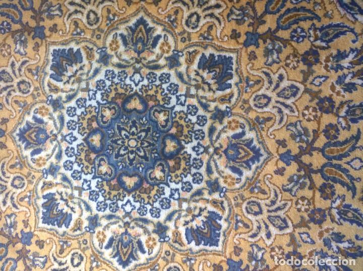 Antigüedades: Alfombra de tonos azules y ocres - Foto 7 - 135031010