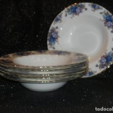Antigüedades: PLATO HONDO ROYAL ALBERT MOONLIGHT ROSES. Lote 135044622