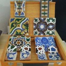 Antigüedades: LOTE DE 14 PIEZAS DE CERÁMICA DE TRIANA. Lote 135051542