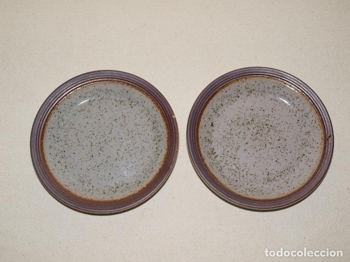 Antigüedades: JUEGO DE DOS TAZAS Y DOS PLATOS DE CAFE CON LECHE. VER FOTOS Y DESCRIPCION - Foto 3 - 135055082