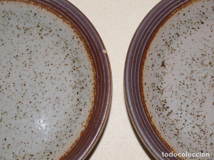 Antigüedades: JUEGO DE DOS TAZAS Y DOS PLATOS DE CAFE CON LECHE. VER FOTOS Y DESCRIPCION - Foto 4 - 135055082