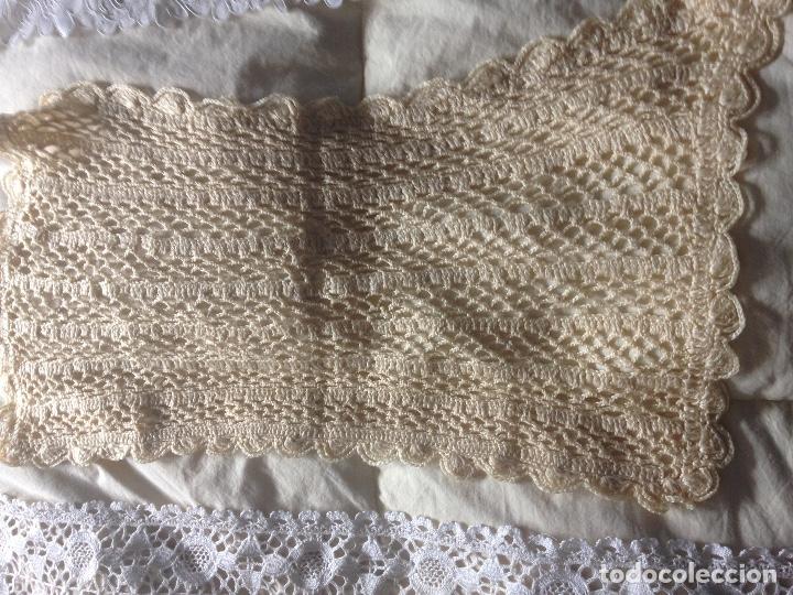 Antigüedades: LOTE PUNTILLAS Y ENCAJES - Foto 14 - 110187807