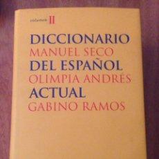 Diccionarios: DICCIONARIO MANUEL SECO DEL ESPAÑOL. Lote 135078017
