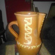 Antigüedades: JARRA ANTIGUA VIDRIADA.ÚBEDA.. Lote 135083126