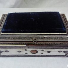 Antigüedades: CAJA DE MARFIL. Lote 135093247