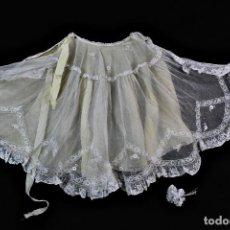 Antigüedades: T2-10 PRECIOSA CAPA INFANTIL DE ENCAJE PPS S XX. Lote 135094698