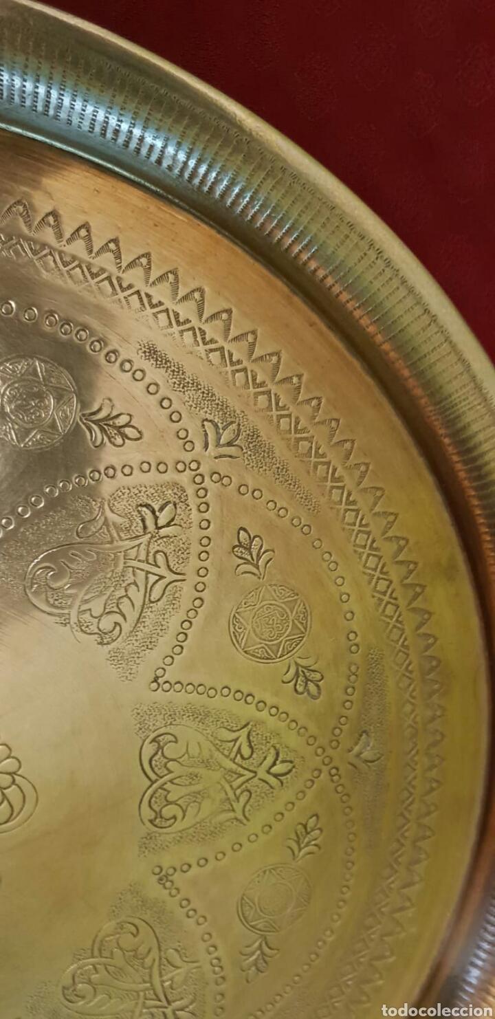 Antigüedades: Bandeja hindú - Foto 2 - 214373957