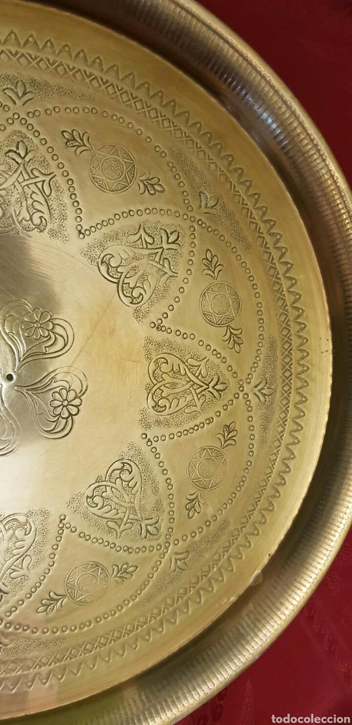 Antigüedades: Bandeja hindú - Foto 3 - 214373957