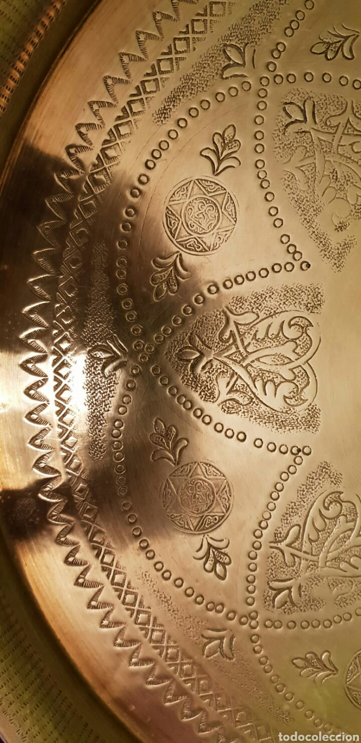 Antigüedades: Bandeja hindú - Foto 4 - 214373957