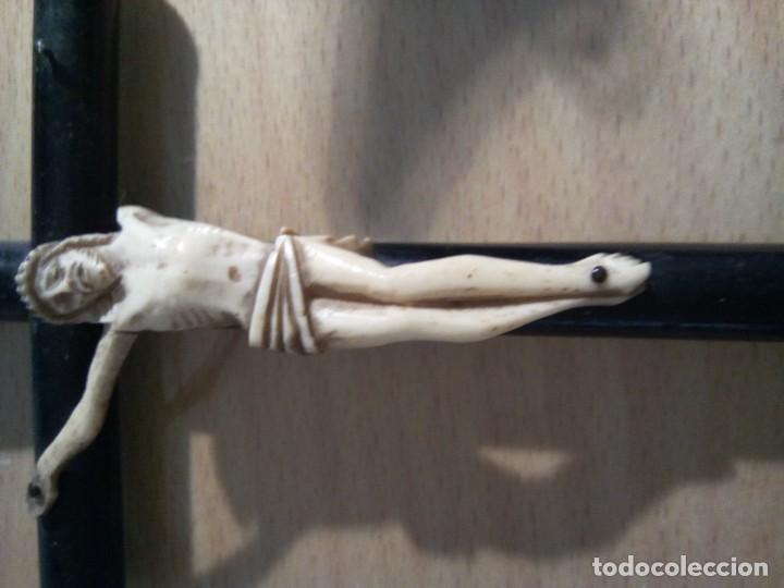 Antigüedades: * CRUCIFIJO DE MARFIL. (RF:230/*) - Foto 4 - 135108258