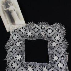 Antiquitäten - 55 Cuadrante para pañuelo de encaje de bolillo antiguo - 135133338