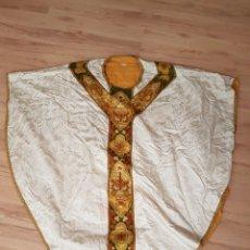Antigüedades: CASULLA ANTIGUA. Lote 135140873