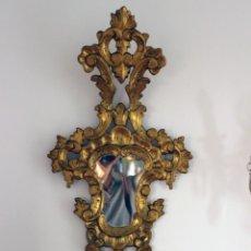 Antigüedades: PAREJA DE CORNUCOPIAS SIGLO XIX. Lote 135188362