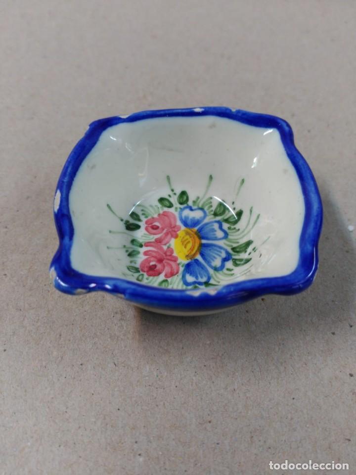 ALMIREZ O MORTERO DE CERAMICA, PEQUEÑAS DIMENSIONES (Antigüedades - Porcelanas y Cerámicas - Otras)