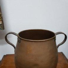 Antigüedades: OLLA COBRE ANTIGUA. Lote 135297218