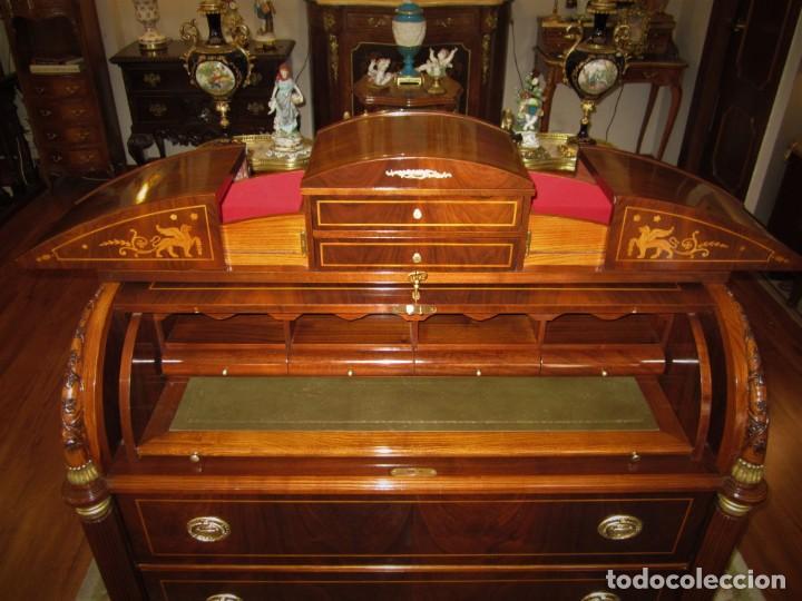 Antigüedades: SOBERBIA CÓMODA ESCRITORIO - Foto 4 - 135314750