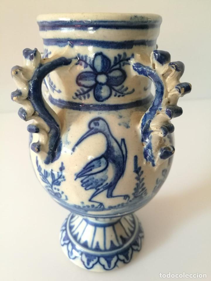 Antigüedades: JARRA DE NOVIA - MOTIVOS TAURINOS - 17 cm - Foto 10 - 135319674