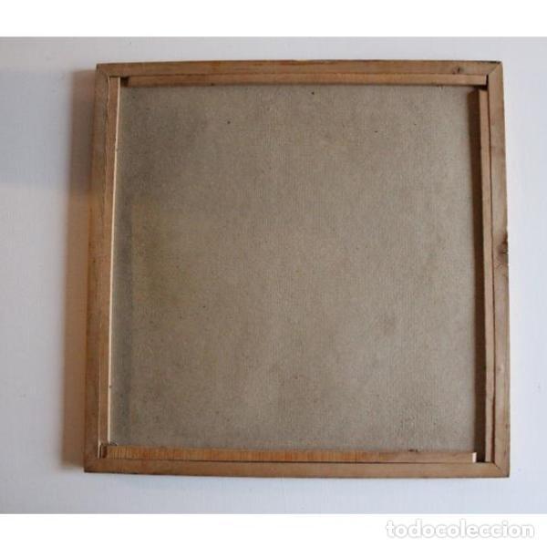 Antigüedades: Antiguo parchís de madera - Foto 2 - 135330094