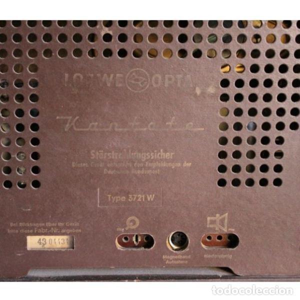 Antigüedades: Antigua radio Loewe - Foto 6 - 135330994