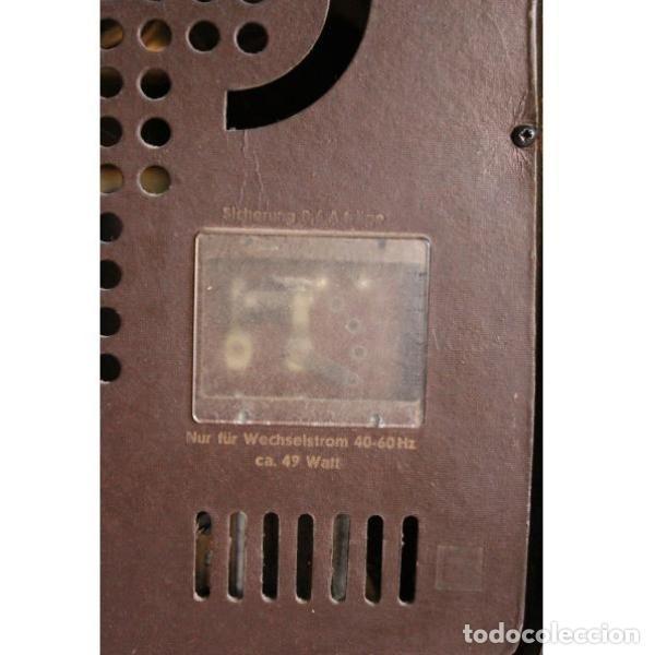 Antigüedades: Antigua radio Loewe - Foto 7 - 135330994