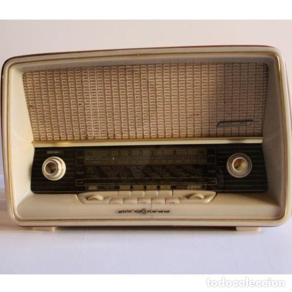 Antigüedades: Antigua radio Loewe - Foto 10 - 135330994