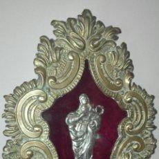 Antigüedades: ANTIGUO RELICARIO, CON VIRGEN INMACULADA CONCEPCIÓN.. Lote 135336362