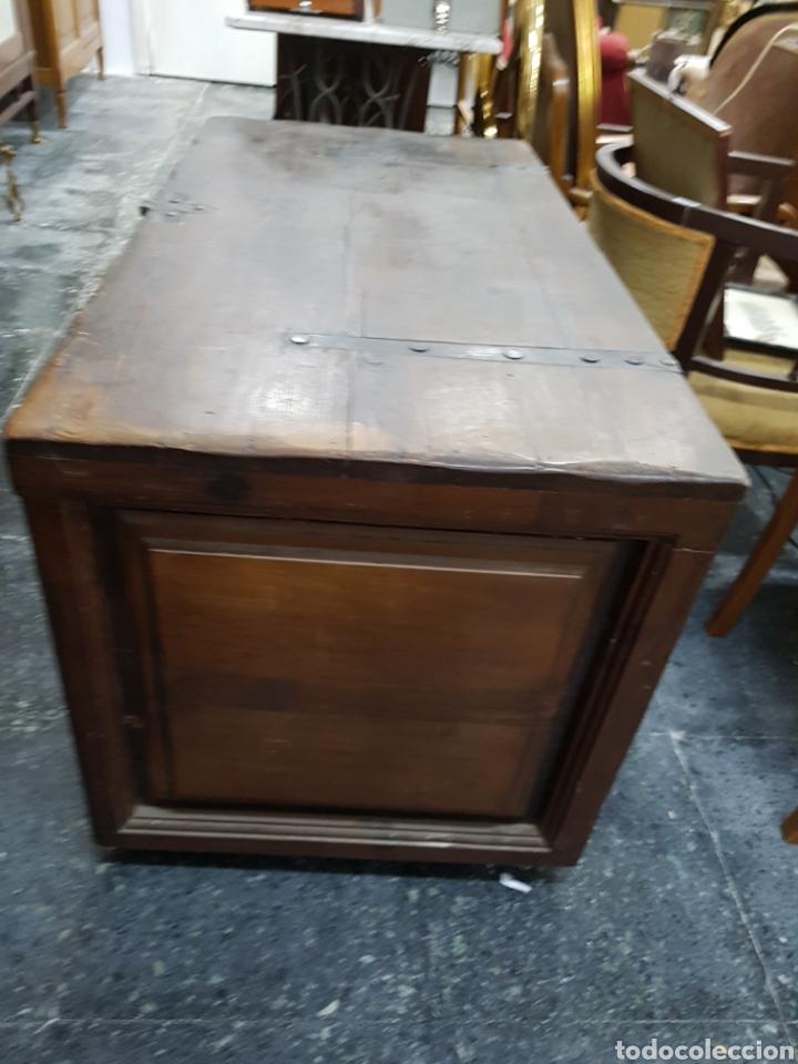 Antigüedades: Arcón baúl de madera años 30 vintage - Foto 6 - 135346641