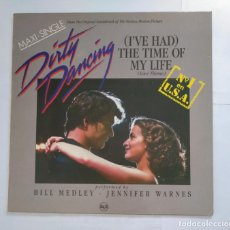 Discos de vinilo: DIRTY DANCING. I'VE HAD TIME HAD. THE TIME OF MY LIFE. LOVE THEME. BILL MEDLEY. MAXI SINGLE. TDKDA35. Lote 135398402