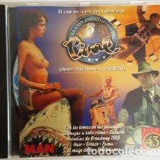 Discos de vinilo: CD - EL CINE EN LA ERA DE LA TV - DESDE 1960 -. Lote 135438154
