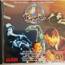 Discos de vinilo: CD - EL CINE SONORO A LA SEGUNDA GUERRA MUNDIAL -. Lote 135438342