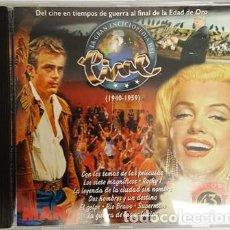 Discos de vinilo: CD - EL CINE EN TIEMPOS DE GUERRA AL FINAL DE LA EDAD DE ORO - 1940 - 1959 -. Lote 135438574