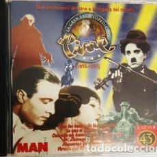 Discos de vinilo: CD - DEL NACIMIENTO DEL CINE A LA LLEGADA DEL SONORO - 1895 - 1927 - . Lote 135438882