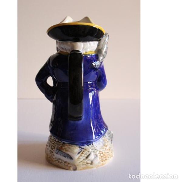 Antigüedades: Antigua jarra inglesa pirata - Foto 2 - 135444782