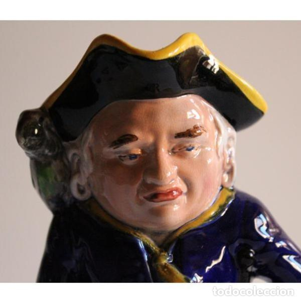 Antigüedades: Antigua jarra inglesa pirata - Foto 3 - 135444782