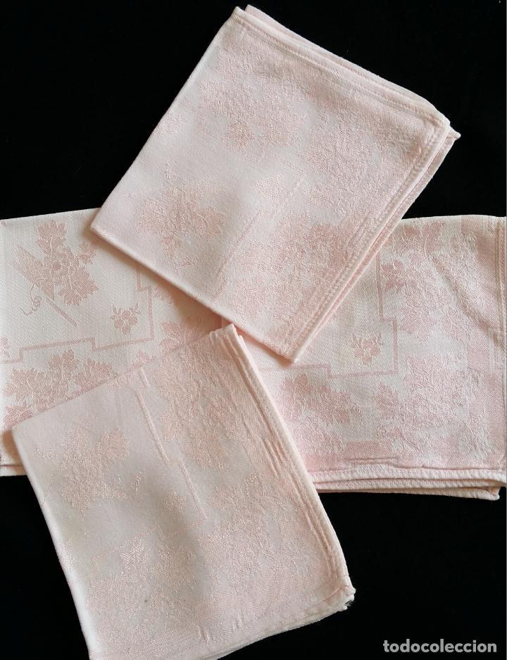 Antigüedades: Cuatro (4) antiguas servilletas - Foto 2 - 135477946