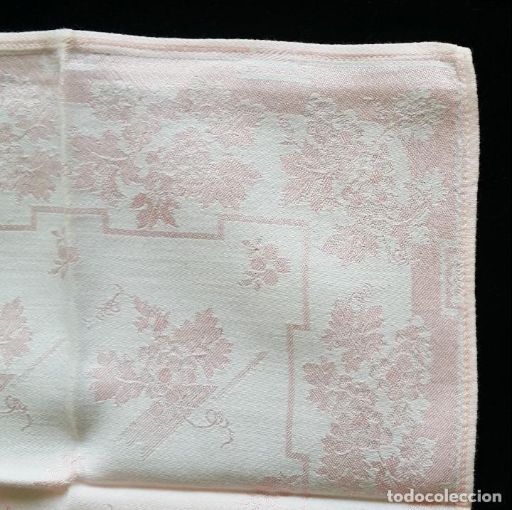 Antigüedades: Cuatro (4) antiguas servilletas - Foto 7 - 135477946