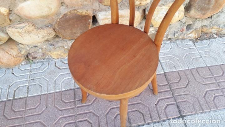 Antigüedades: Cuatro sillas antiguas estilo thonet originales Jacob & Josef Kohn Wien etiquetas silla antigua - Foto 7 - 135485342