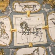 Antigüedades: PAÑUELO HERMES PARIS SEDA. Lote 135508471