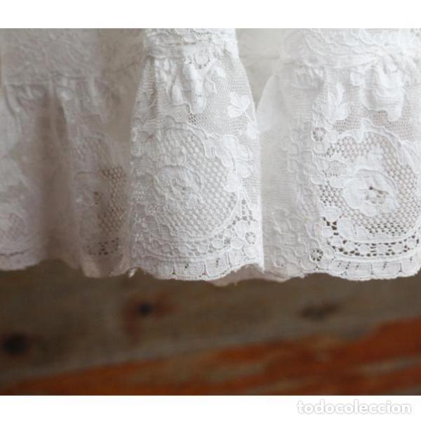 Antigüedades: Precioso traje vestido valencie bautismo - Foto 3 - 135509418