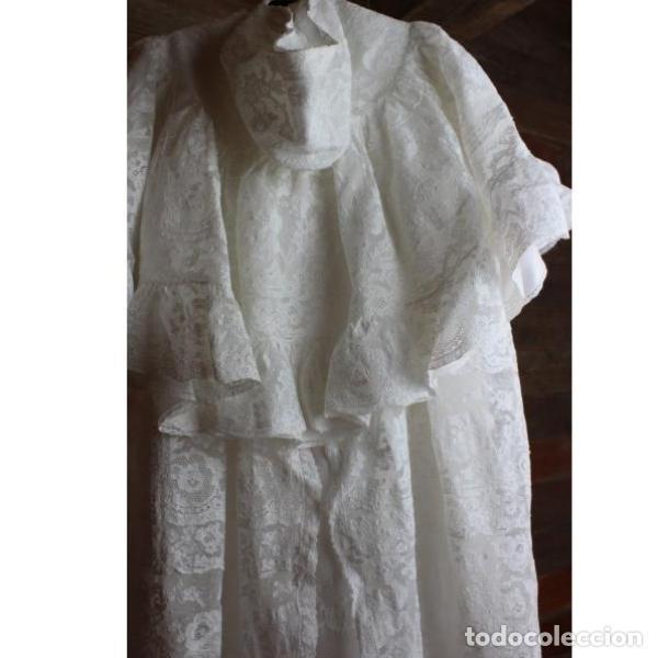 Antigüedades: Precioso traje vestido valencie bautismo - Foto 4 - 135509418